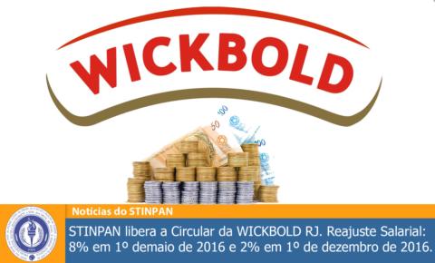 STINPAN libera circular 2016/2017 da WICKBOLD RJ
