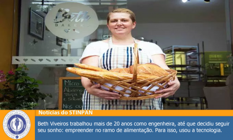 Ela largou um emprego no Google para vender pão na internet