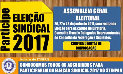 ELEIÇÃO STINPAN- Clique Aqui