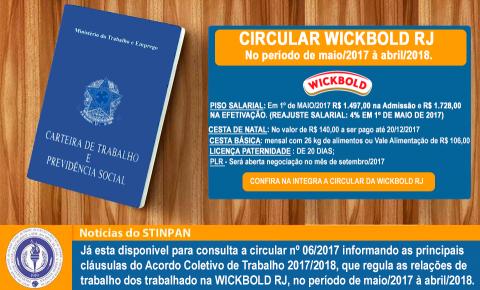 Confira a Circular da Wickbold RJ 2017