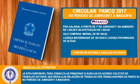Confira a Circular da PANCO 2017