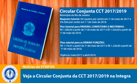 CIRCULAR CONJUNTA – CCT 2017/2019