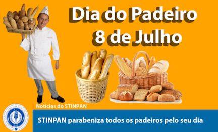 Dia do Padeiro – 8 de julho