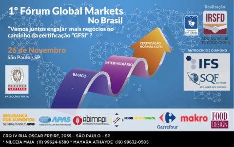 1 º FÓRUM GLOBAL MARKETS NO BRASIL